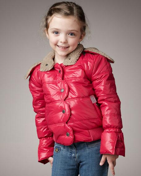 Puffer Jacket, Pink