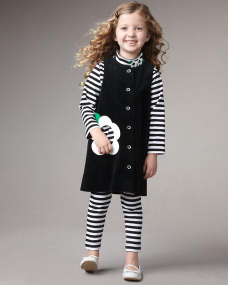 Corduroy Dress, Sizes 4-6X