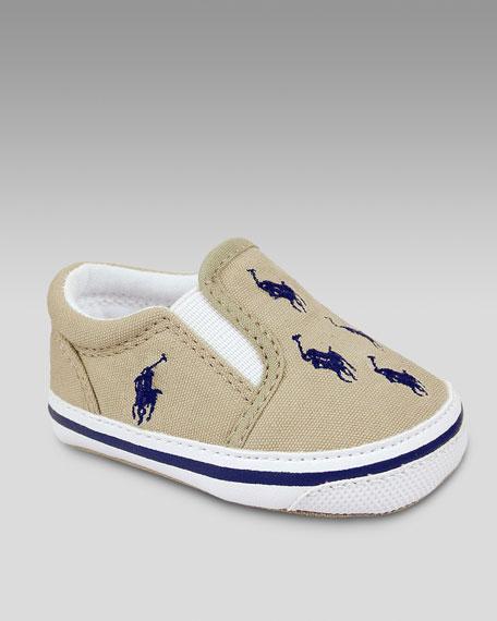 Bal Harbour Repeat Sneaker, Khaki/Navy