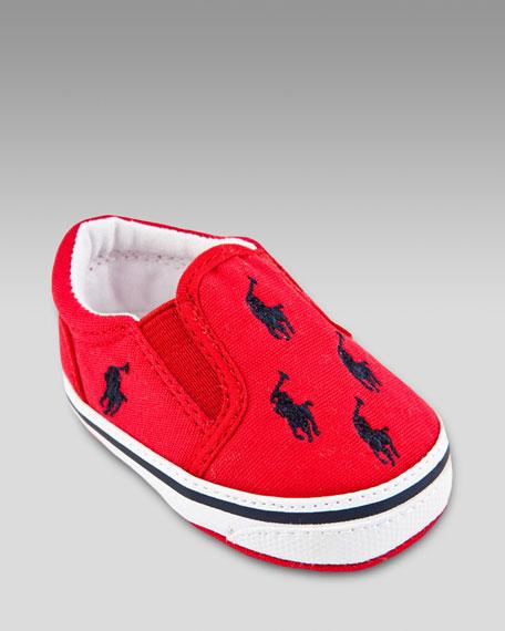 Bal Harbour Repeat Sneaker, Red/Navy