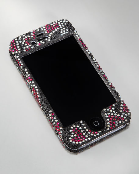 Heart Rhinestone iPhone Case, 3G