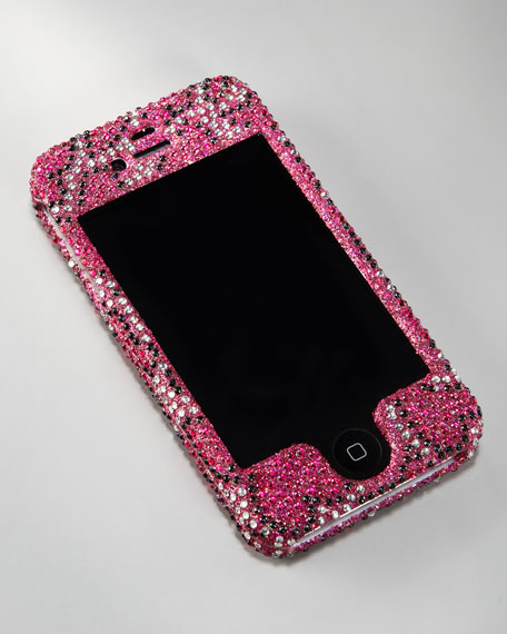 Heart Rhinestone iPhone Case, iPhone 3G