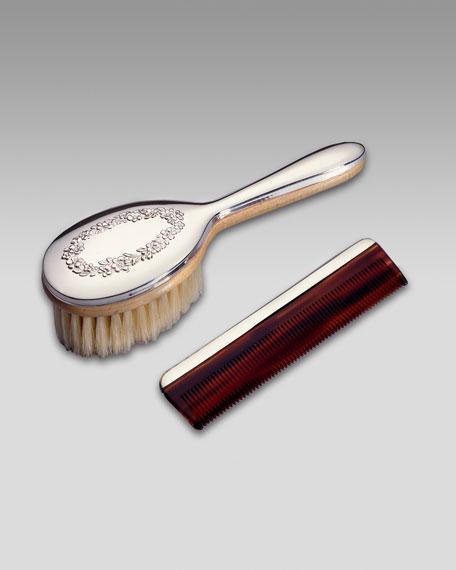 Girls' Brush & Comb Set