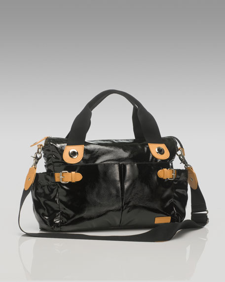 Kate Patent Baby Bag