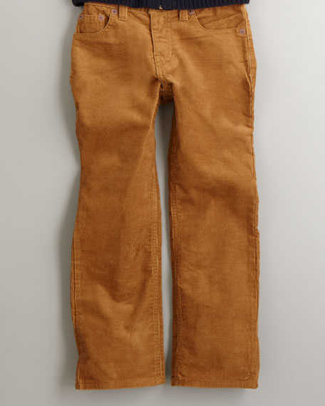 Five Pocket Corduroy Pants, Sizes 8-14