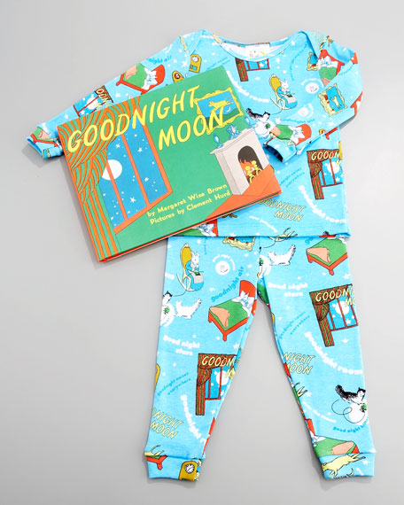 Goodnight Moon Pajama and Book Set, Infant