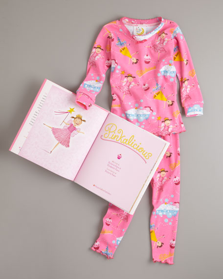 Pinkalicious Pajama and Book Set, Sizes 4-7