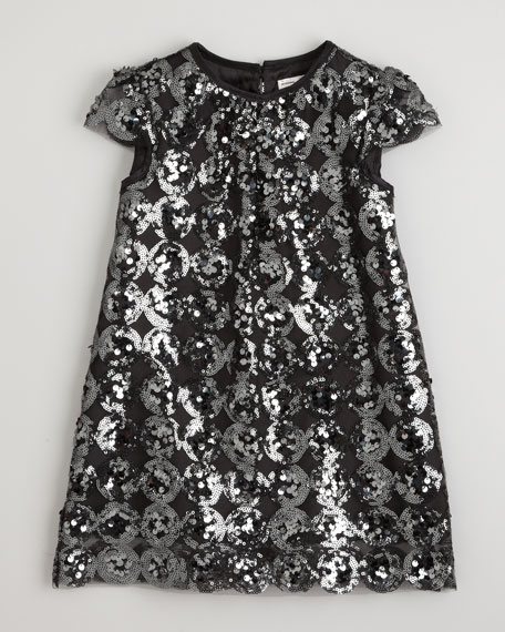 Daisy Sequin Dress, Sizes 2-7