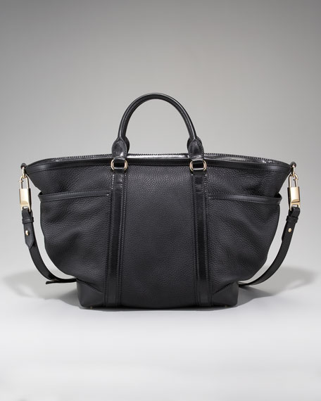 Leather Baby Bag, Large