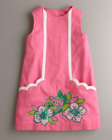 Skip On It Little Lilly Dress, Hotty Pink Multi