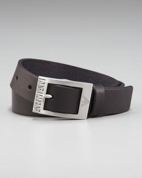 Logo Dress Belt