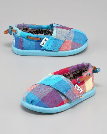 Maxwell Plaid Shoe, Tiny