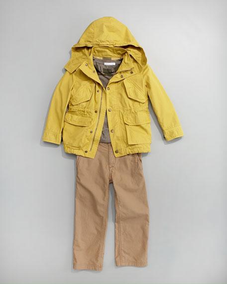 Mini Brit Shirt, Sizes 2-6