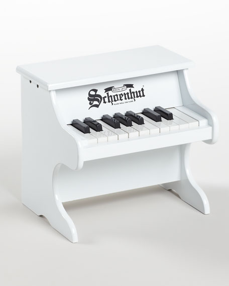 My First Piano & Learning Kit, White