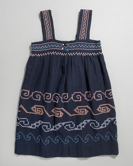 Lolo Embroidered Tank Dress