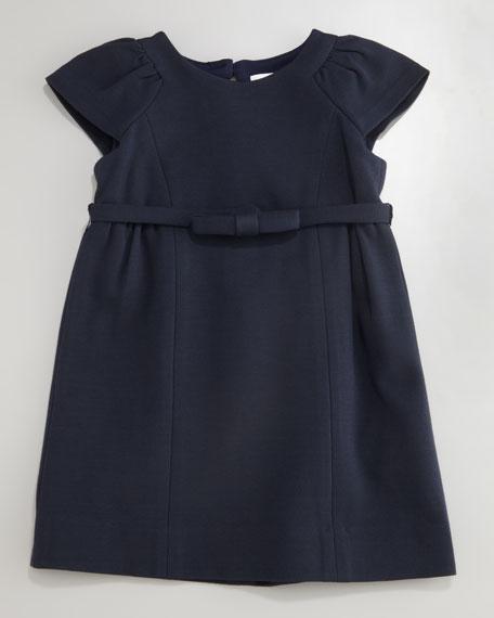Mini Ponti Shift Dress, Sizes 8-10