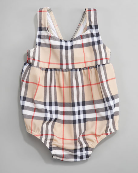 Susannah Exploded Check Swimsuit
