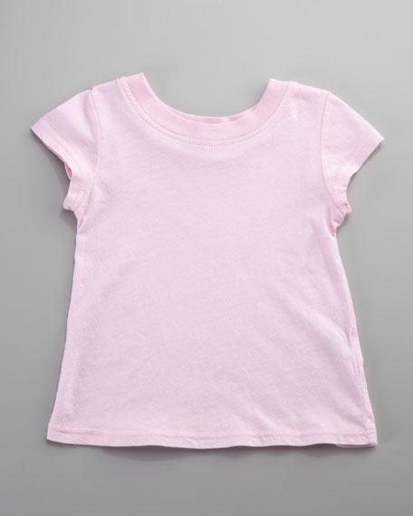 Basic Jersey Tee, Pixie/Light Pink, Infant