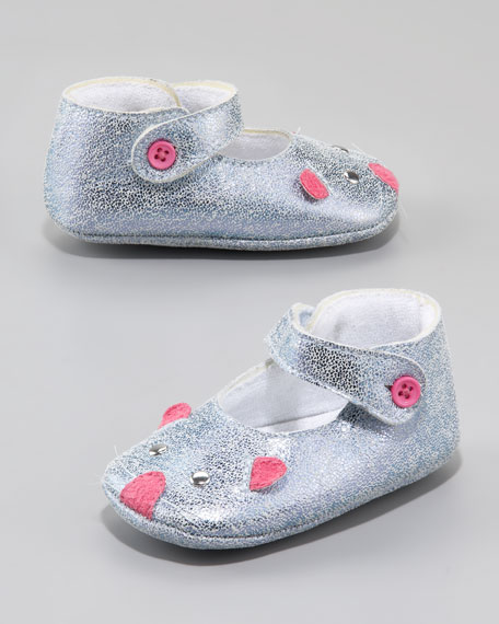 Baby Mouse Mary Janes, Blue