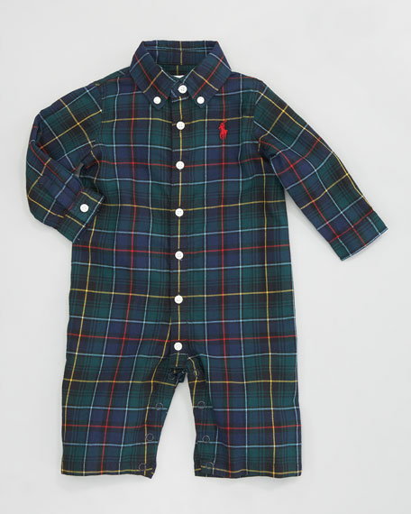 Plaid Kensing Coverall