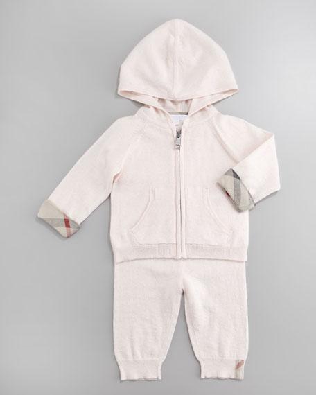 Cashmere-Blend Track Suit, 3-24 Months
