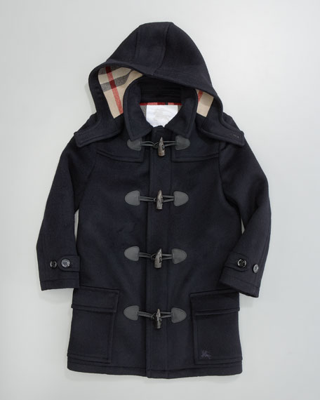 Unisex Mini Toggle Coat, Navy