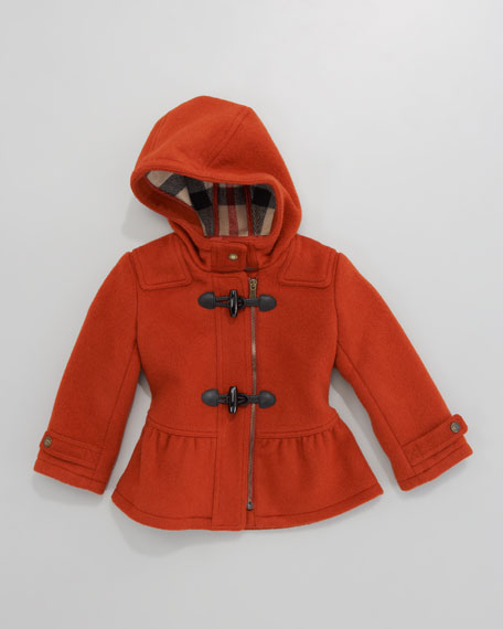 Mini Fitted Duffle Coat