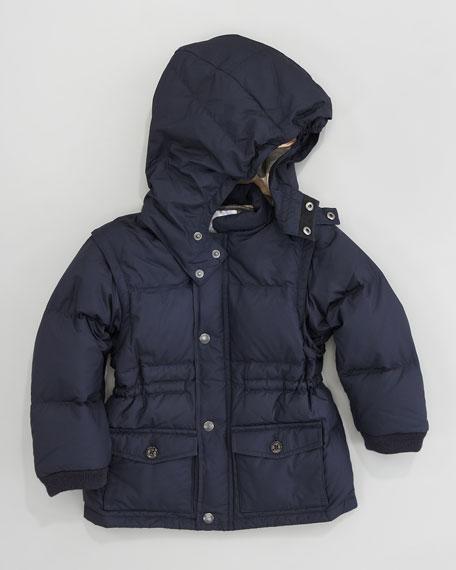 Convertible Heritage Jacket, True Navy