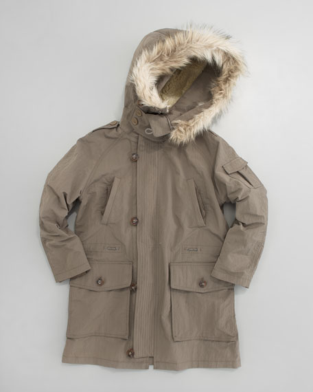 Mini Three-in-One Parka