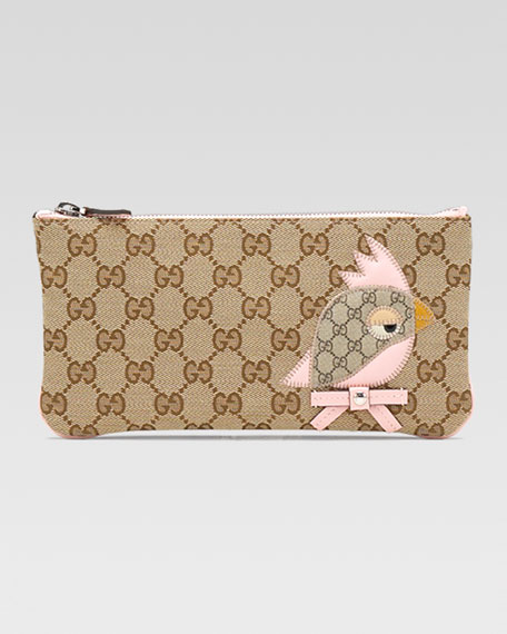 GG Fabric Zoo Wallet