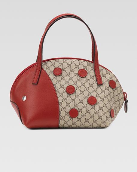 Gucci Zoo Ladybug Handbag