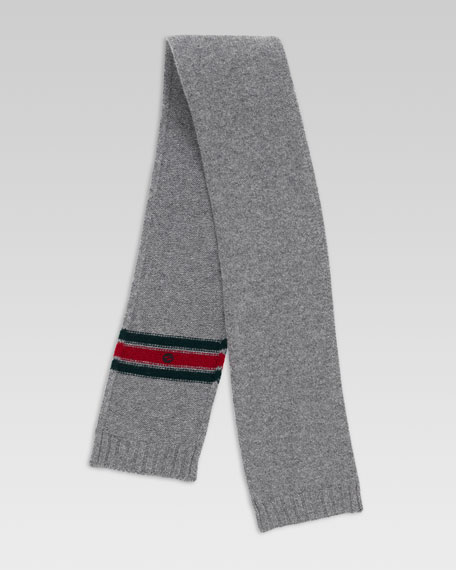 Tricot Knit Scarf