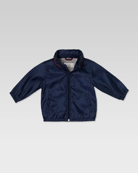 Waterproof Nylon Mini GG Jacket