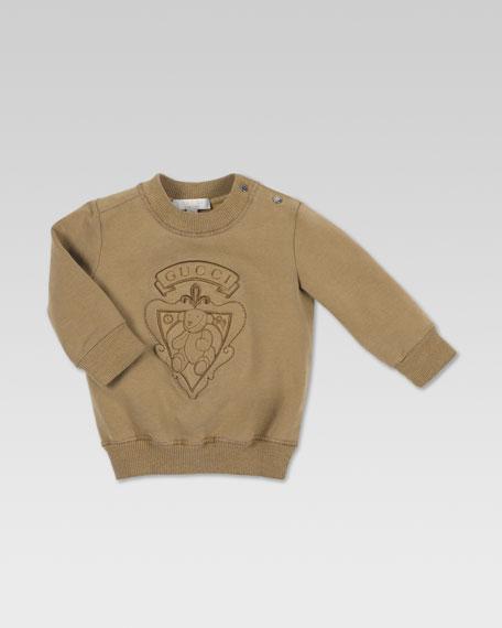 Teddy Bear Jersey Sweatshirt