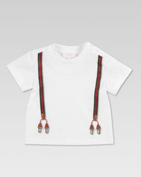 Suspender-Print Shirt