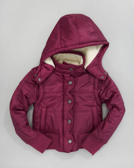 Liseli II Quilted Jacket, Sugar Plum