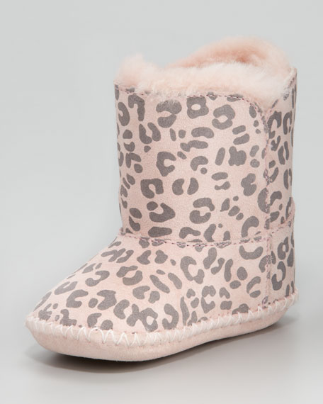 Cassie Leopard-Print Boot, Infant