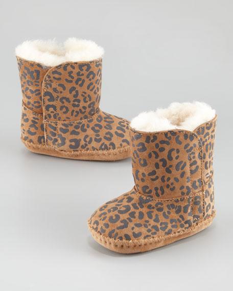 Cassie Leopard-Print Boot, Infant