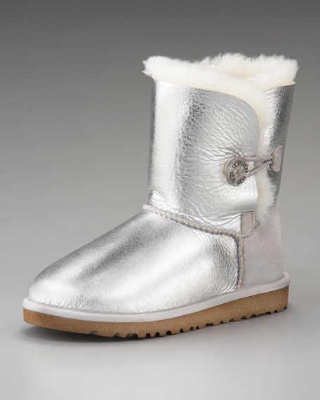 Bailey Button Short Boot, Youth