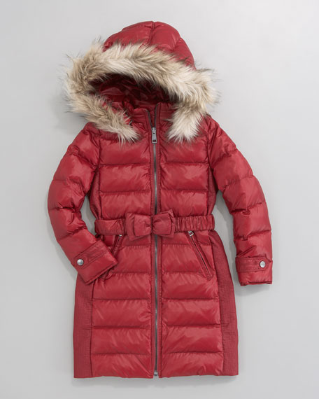 Catherine Long Quilted Jacket