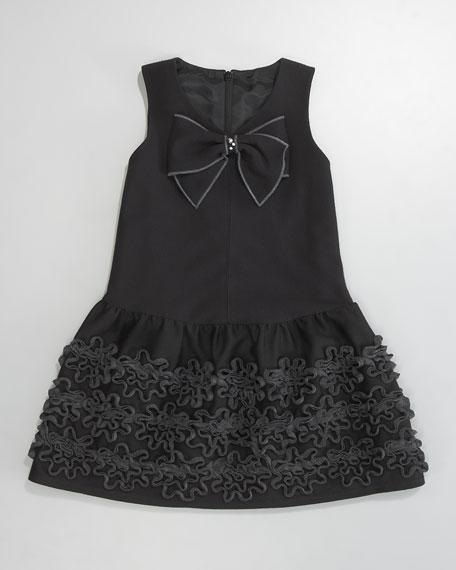 Drop-Waist Bow Dress