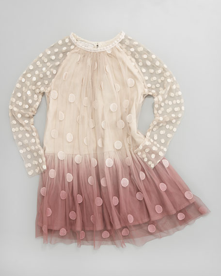 Stella McCartney Misty Ombre Tulle Dress