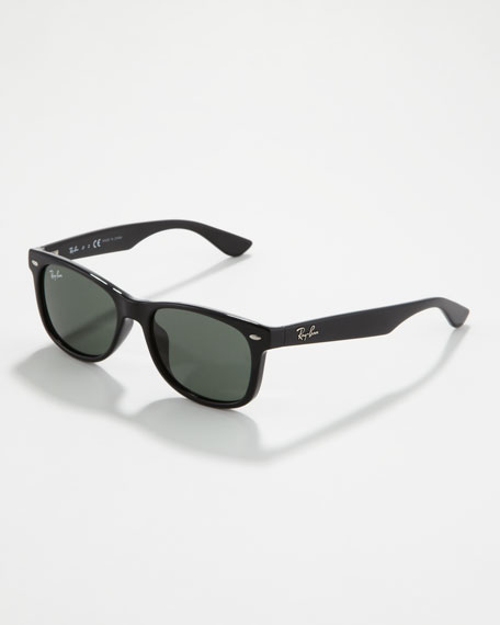 Wayfarer Sunglasses, Black