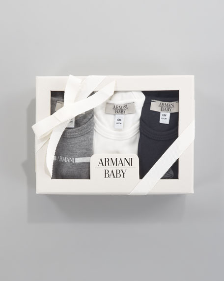 Boxed Set of 3 Bodysuits