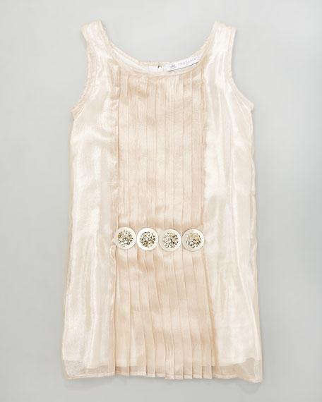 Shimmer Shift Dress, Sizes 2-4