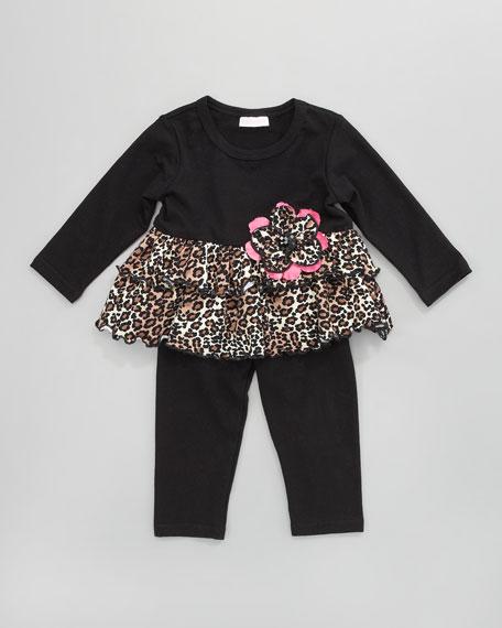 Fabulous Leopard Babydoll Set, 12-24 Months