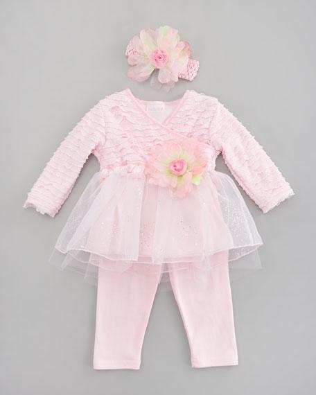 Tiny Trousseau Little Bow Peep Dress, 3-9 Months