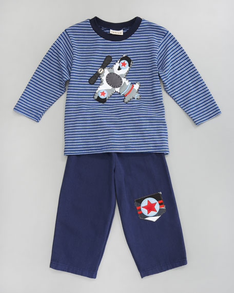Camouflage Convoy Tee and Pants Set