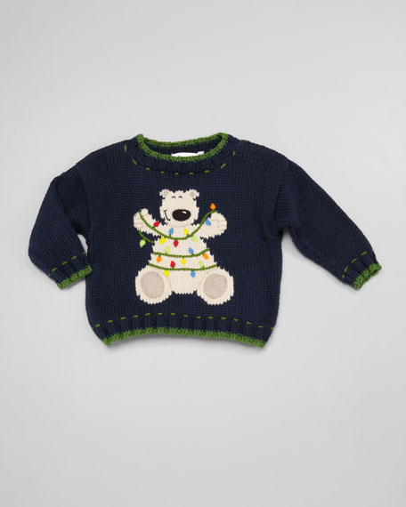 Christmas Bear Holiday Sweater, Sizes 4-7