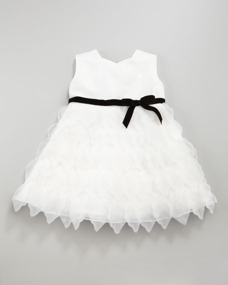 Organza Petal Tea-Length Dress, 12-24 Months